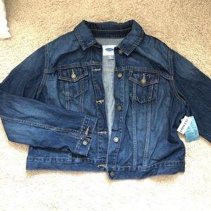Old Navy NWT XL denim jacket